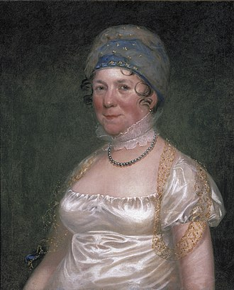 Dolley Madison - Image: Mrs James Madison (Dolley Madison), by Bass Otis