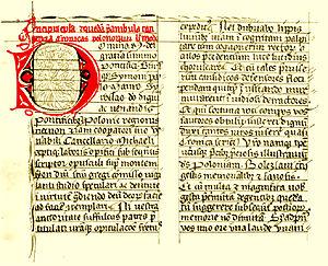 Gesta principum Polonorum - Image: Ms zanoyskich intro