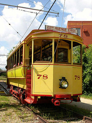 Minnesota Streetcar Museum - Duluth Street Railway No. 78