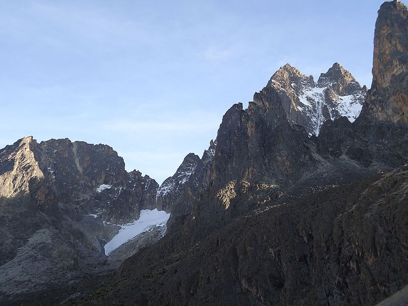 Bestand:Mt. Kenya rock and glacier.jpg