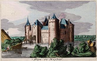 Muiden Castle - Image: Muiderslot (Atlas van Loon)