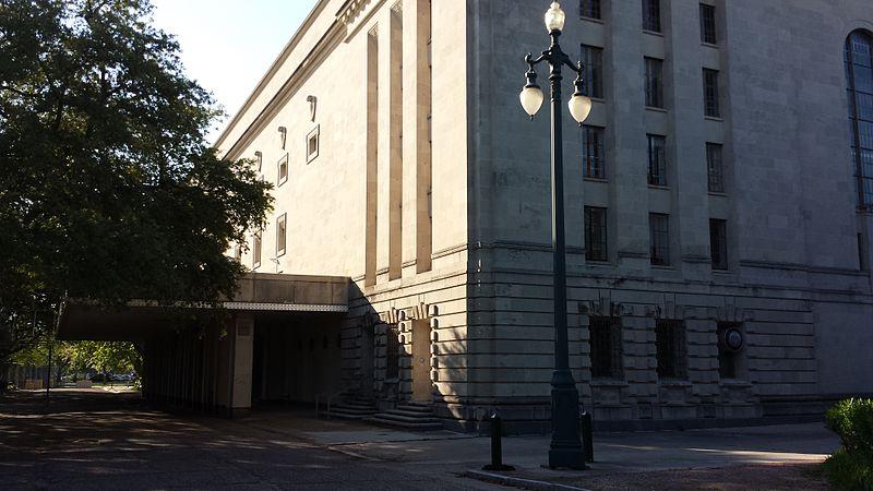 File:Municipal Auditorium (New Orleans) - Basin Street Entrance.jpg