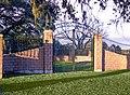 Munson Cemetery gate -- Brazoria County, Texas.jpg