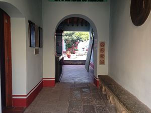 Benito Juárez - Casa de Juárez, the Maza residence to which Juárez fled in Oaxaca City, now a museum
