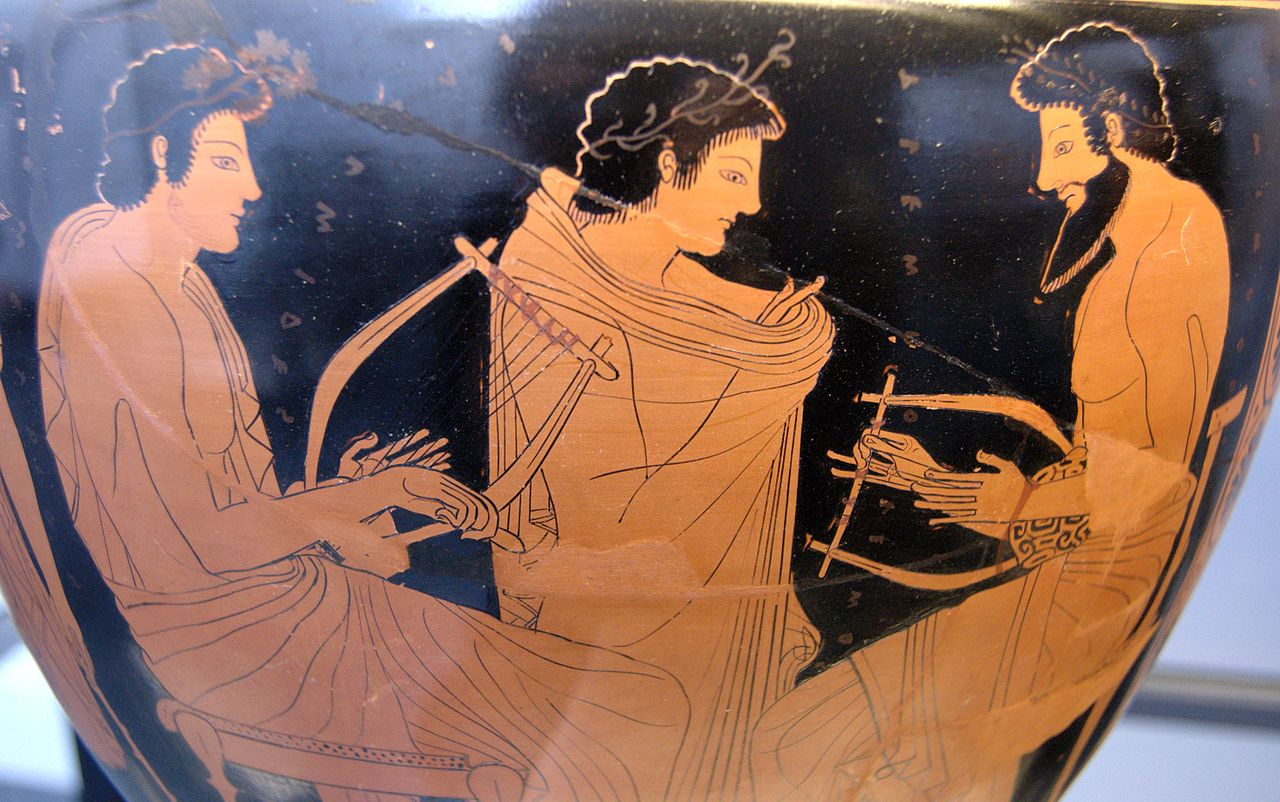 Image result for Ancient Greek music