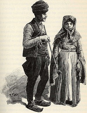 Muslim Roma - Muslim Roma in Bosnia (around 1900)