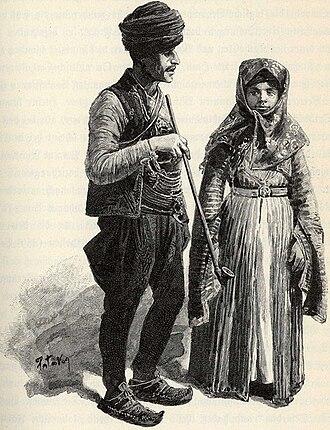 Muslim Roma - Muslim Roma in Bosnia (around 1900)