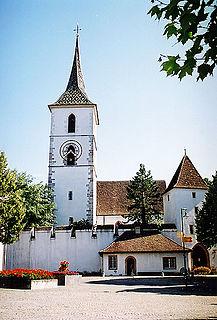 Church in Basel-Landschaft, Switzerland