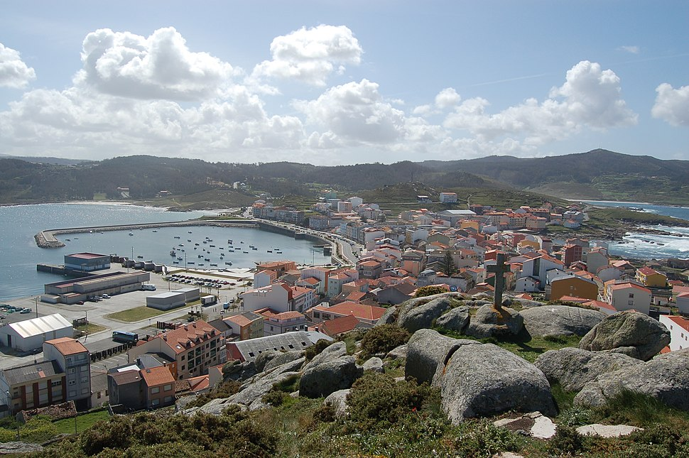 Muxia, Spain - view from hill