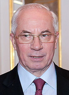 Mykola Azarov Ukrainian politician