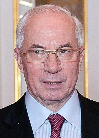 Mykola Azarov - Image: Mykola Azarov 2012