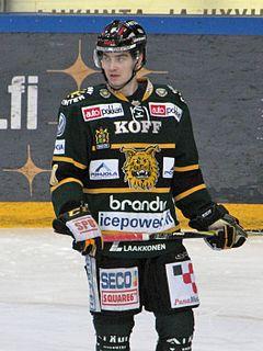 Matias Myttynen Finnish ice hockey player
