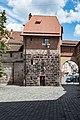 Nürnberg, Stadtbefestigung, Mauerturm Rotes P 20170616 001.jpg