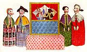 Marionnettes à gaines du XIXesiècle