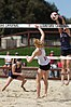 NCAA beach volleyball match at Stanford in 2017 (33276130322).jpg