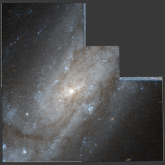 NGC 4559 - NGC 4559 imaged by the Hubble Space Telescope