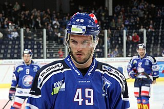 Dan Fritsche Swiss-American ice hockey player