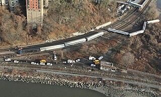 December 2013 Spuyten Duyvil derailment fatal December 2013 train derailment in the Bronx, New York City