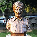 N J Sekhon statue at Param Yodha Sthal Delhi.jpg