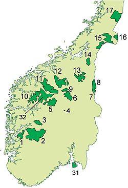 Dovrefjell Sunndalsfjellan Kansallispuisto Wikipedia