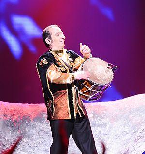 Qoltuq nagara - Image: Natiq Shirinov Eurovision 2012