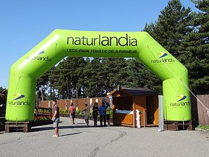 Com arribar a Naturlandia amb transport públic - Sobre el lloc