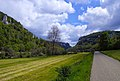 "Naturpark Oberes Donautal, ""Der Schwäbische Grand Canyon"". Donauradweg (Danube bike path) east of Beuron, in Baden-Württemberg, Germany. - panoramio.jpg"