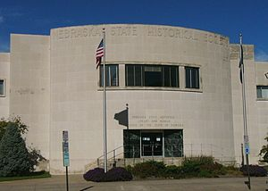 Nebraska State Historical Society - The Nebraska State Historical Society headquarters building.