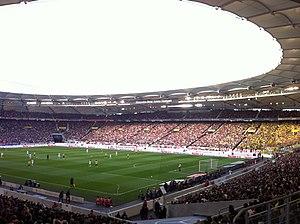 VfB Stuttgart - Stuttgart against Borussia Dortmund in 2011.