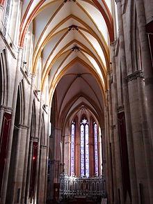 Nef de la Cathédrale Saint Etienne de Toul