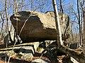 Nehantic State Park Nayantaquit Trail Large Erratic Boulder.jpg