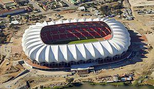 Nelson Mandela Bay Stadium - Image: Nelson Mandela Stadium in Port Elizabeth (cropped)