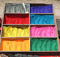 Nepal - Kathmandu - 014 - Coloured chalk for sale (492195450).jpg