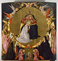 Neri di Bicci - The Coronation of the Virgin with Angels and Four Saints - Walters 37675.jpg