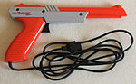 Although several specialty controllers were marketed for the NES and the Famicom, few were commercially successful. Support for the Zapper, a light gun accessory, was limited to only 16 game titles.