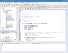 Description de l'image NetBeans IDE 6.0 on Linux.png.
