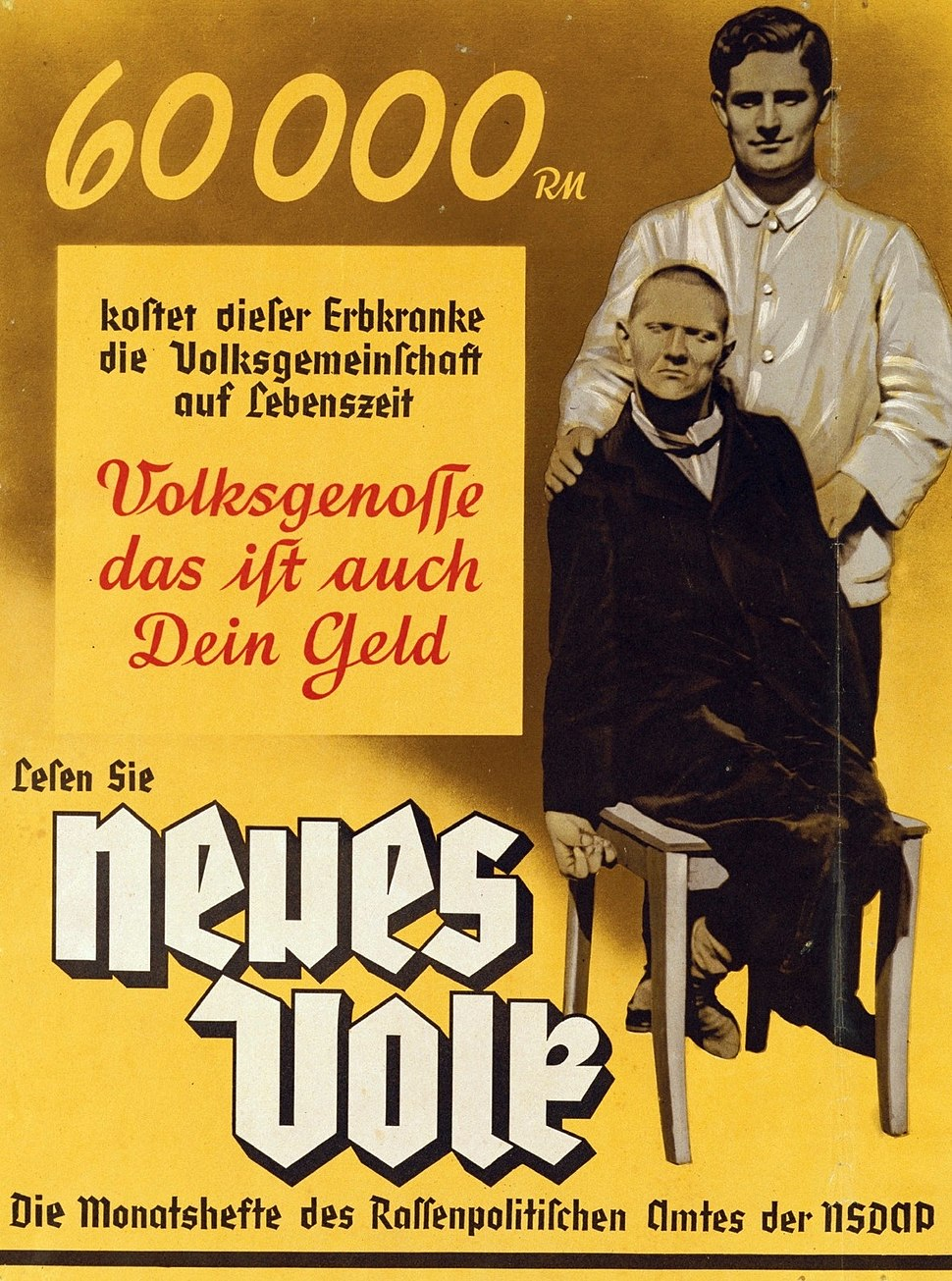 Neues Volk eugenics poster, c. 1937 (brightened).jpeg