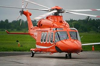 AgustaWestland AW139 - Ornge AW139 air ambulance