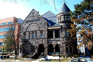 Kelsey Museum of Archaeology - Image: Newberry Hall