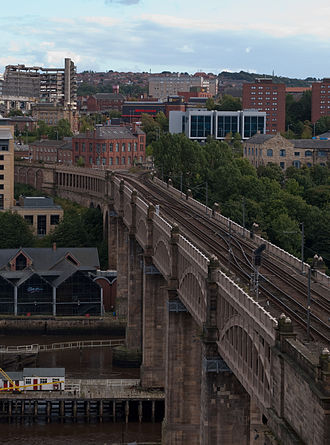 High Level Bridge - The High Level Bridge in 2010