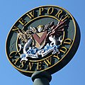Newport Coat of Arms, Stow Hill - geograph.org.uk - 707707.jpg