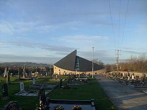 Newtown Cunningham - All Saints, the Catholic church in Newtowncunningham.