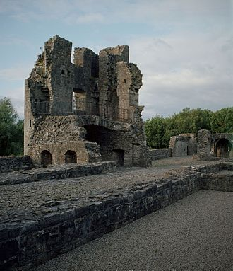 St. John's Priory, Trim - One of the main buildings of the priory.