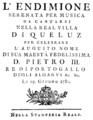 Niccolò Jommelli - Endimione - titlepage of the libretto - Lissabon 1780.png