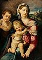 Niccolò dell' Abbate - La Virgen y el Niño con San Juan Bautista.jpg