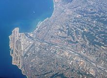 Nice Côte d'Azur Airport from the air.JPG