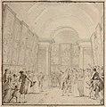 Nicolas-Andre Monsiau - L'imperatrice Josephine accompagnee de Vivant Denon visitant le Salon de 1808.jpg
