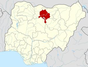2014 Kano bombing - Image: Nigeria Kano State map