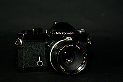 Nikkormat FT2 135 film SLR camera.jpg