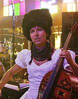 Nina Garenetska (DakhaBrakha) (Haldern Pop 2013) IMGP6730 smial wp.jpg